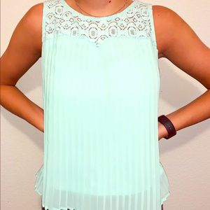 💛 Turquoise blouse